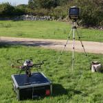 Il nostro UAV APX002 e la stazione a terra