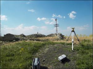 Misura mediante GPS topografico in modalità differenziale di uno dei capisaldi di un sistema locale a punti fissi