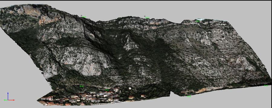 Modello DTM con texture